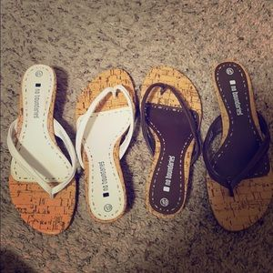 No boundaries heeled sandals.